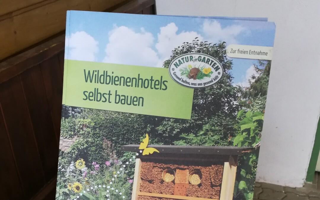 Aktion für Bienen und nützliche Insekten