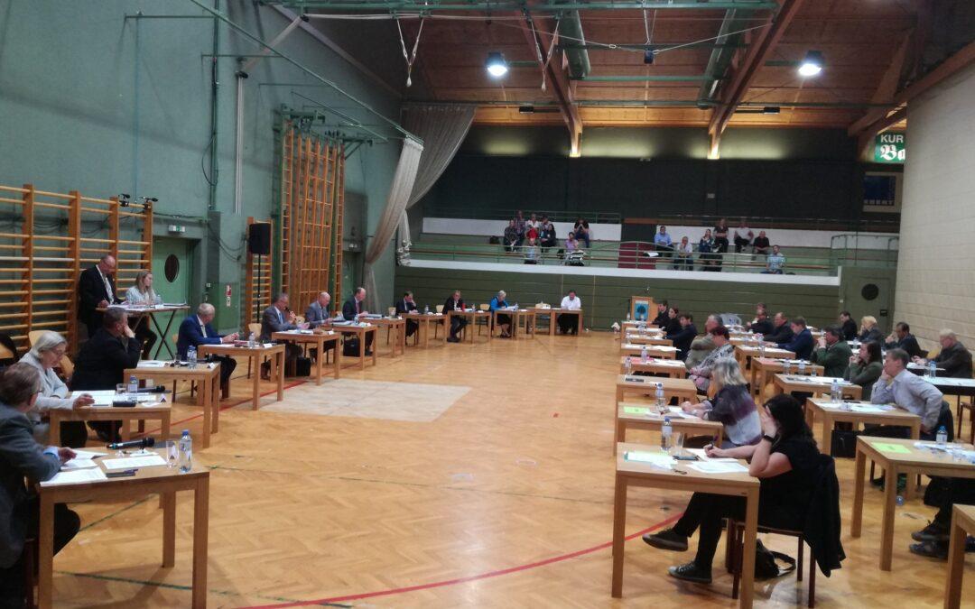 Gemeinderat: Sitzung sportlich wie noch nie!