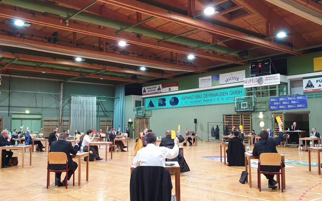 Gemeinderat 3/2021 – Thermenhalle